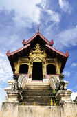 大蔵経ホール寺北部チェンマイ タイ — ストック写真