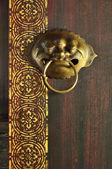 Vintage knocker — 图库照片