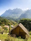 Chiang Dao Hill village Thailand — Stock Photo