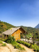 Chiang Dao Hill village Thailand — Stock Photo