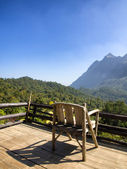 View Chiang Dao hill Thailand — Stock Photo