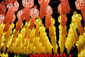 Lantern festival in Thailand — Stock Photo