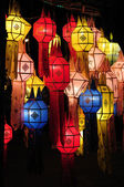 Lanna lantern — Stock Photo