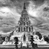 Wat CHEDI-LIEM KUKAMLUANG Chiang Mai Thailand — Stock Photo