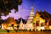 Phra singh tempel — Stockfoto