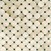 平铺有光泽的马赛克陶器材料 — 图库照片