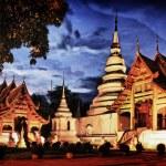 Phra Singh temple — Stock Photo