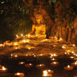 Makha Bucha Day — Stock Photo