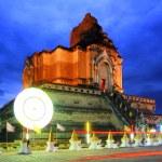Chedi Luang temple : Chiang Mai Thailand. — Stock Photo
