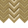 Curtain gold frame — Stock Photo #41398373