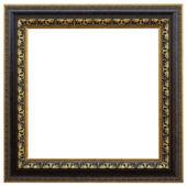 Antieke frame geïsoleerd op witte achtergrond — Stockfoto