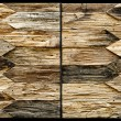 Stock Photo: Wood fence