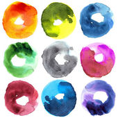 Abstract donut watercolor — Photo