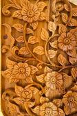 Wood Thai pattern — Foto de Stock