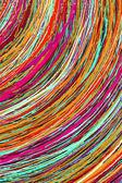 Stripe pattern paint — Stock Photo