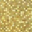 Abstract square pixel mosaic background : Antique glossy tile. — Stock Photo