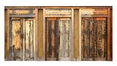Ancient wood doors — Foto de Stock