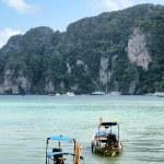 "Transportation boat "" PHI PHI BEACH "" — Stock Photo"