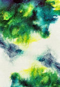 Abstract stain watercolors — Stock Photo