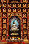 The statue of Buddha, Chinese Buddha Tooth Relic. — Photo