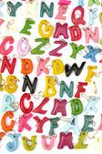 Fancy alphabet — Stock Photo