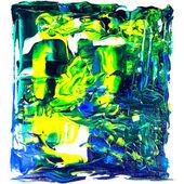 Abstract arcylic paint — Stock Photo