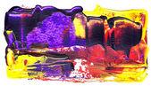 Abstract acrylic paint — Stock Photo