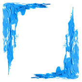 Frame acrylic paint — Stock Photo