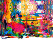 Abstract acrylic paint — Stock Photo