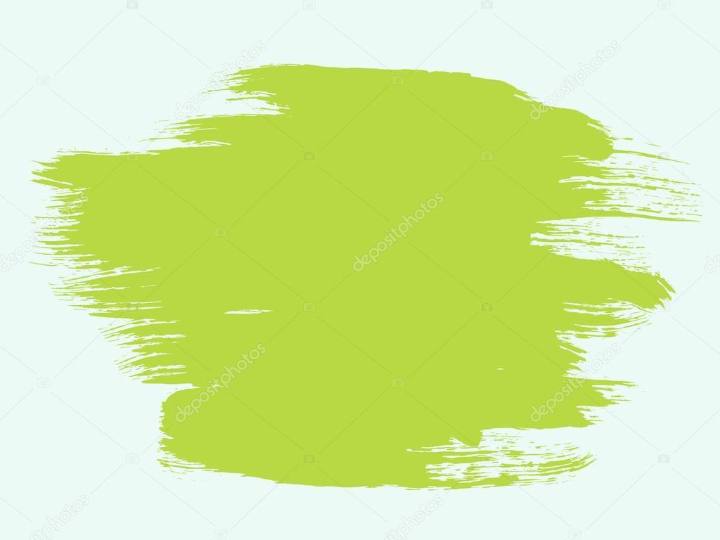 Green Paint Splash Illustration Png