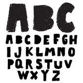 Crayon doodle alphabet  — Vetorial Stock