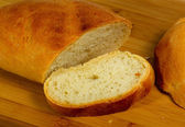 Home baked bread — Stock Photo