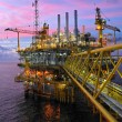 Offshore rig in twilight — Stock Photo #25356655