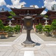 Chi lin Nunnery, Tang dynasty style Chinese temple, Hong Kong — Stock Photo
