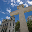 Stock Photo: A view of classical chruch architecture in Macau
