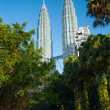 Petronas Twin Towers in Malaysia — Stock Photo #25378343