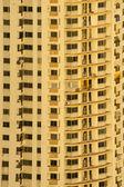 Condominium with sunset in Bangkok, Thailand. — Stock Photo