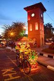 MALACCA, MALAYSIA - MAY 19: A view of Christ Church & Dutch Squa — Stock Photo