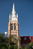 The cathedral of holy trinity, yangong, myanmar — Stock Photo
