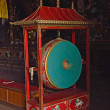 Drum pray in buddhist temple, Nepal — Lizenzfreies Foto