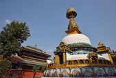 Wisdom eyes, imitate of Bodhnath, Nepal — Stock Photo