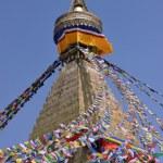 Bodhnath Stupa in Kathmandu, Nepal. — Stock Photo #25390047
