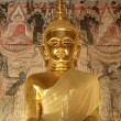 The ancient buddha statue, Nan, Thailand. — Stock Photo