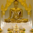 There are four small statues of Buddha in the temple Phumin Nan, Thailand — Stock Photo #25396459