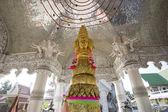 城市支柱神殿的南山区泰国的动物雕像 — 图库照片