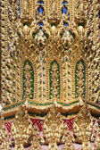 Thai texture in thailand Temple — Stock Photo