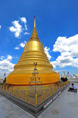 Gold moutain temple in bangkok province (thailand.) — Стоковое фото