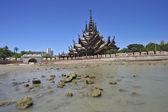 Sanctuary of Truth in Pattaya, Thailand. — Stock Photo
