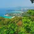 Stock Photo: Viewpoint phuket bay city thailand