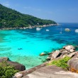 Tropical paradise, Similan islands, Andaman Sea, Thailand — Stock Photo